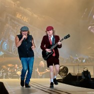 Brian Johnson and Angus Young of AC/DC