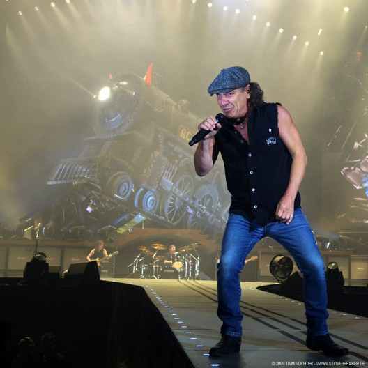 Brian Johnson of AC/DC