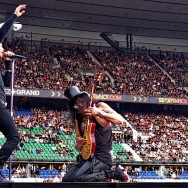 Myles Kennedy and Slash at the Stade de France