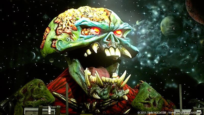Iron Maiden - Final Frontier Tour 2011