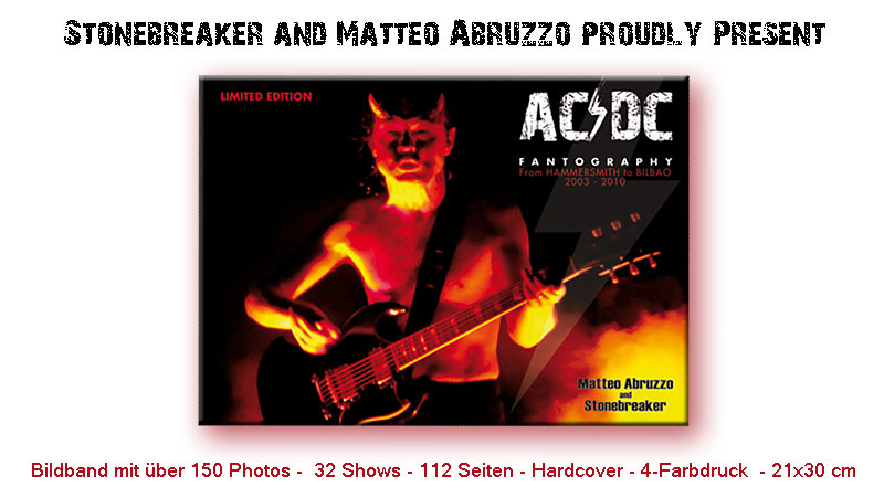 AC/DC FANTOGRAPHY von Stonebreaker & Matteo Abruzzo